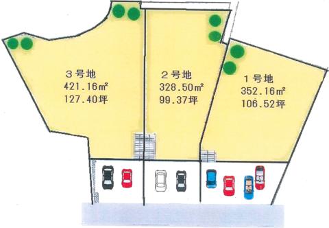 区画図【プロムナード泉佐野・市場東】